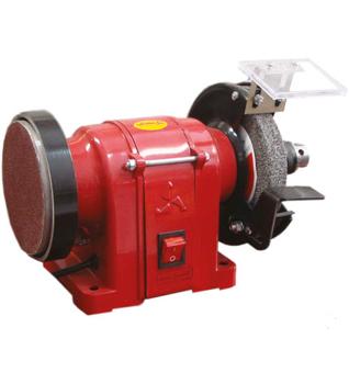 تصویر دستگاه سنگ سنباده با سه نظام محک DGD 125 - 2