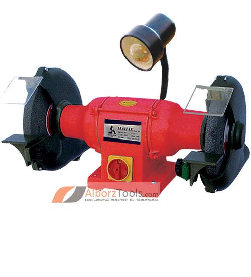 تصویر ماشین سنگ سنباده چراغ دار محک  GD 300HL