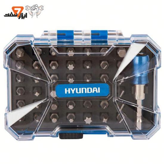 مجموعه 43 عددی پیچ گوشتی هیوندای مدل HC43B