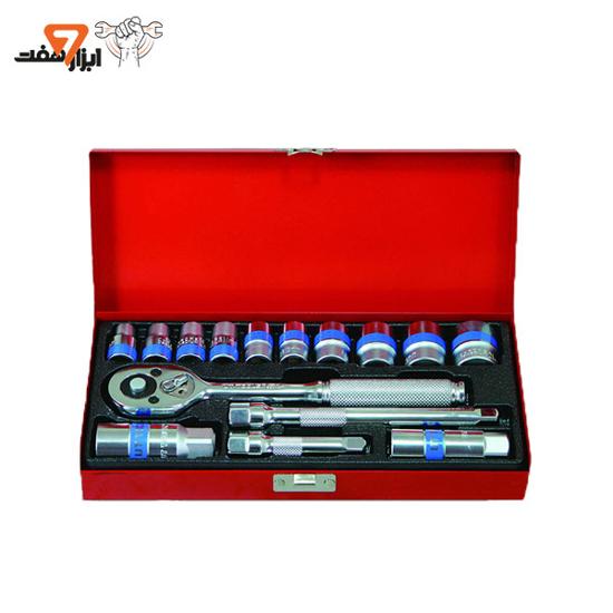 جعبه بکس 16 پارچه یو تی تولز مدل UT316E-3/8