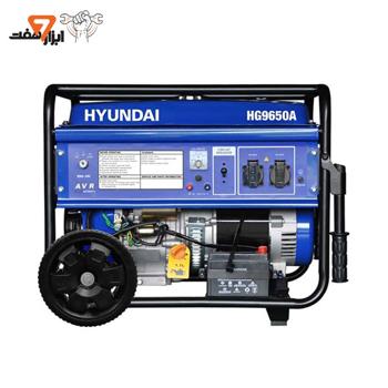 موتور برق 6.5 کیلو وات هیوندای مدل HG9650A
